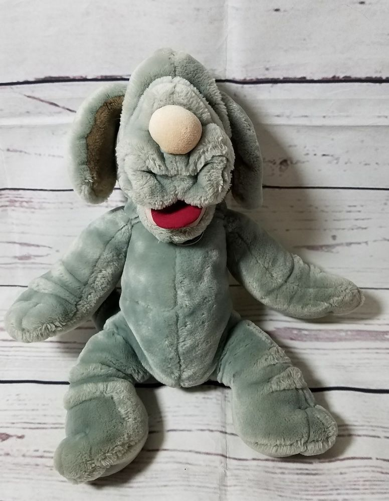 Vtg Ganz Bros Puppet Plush Wrinkles 16 Quot Gray Blue Dog Stuffed 1981 Toy Retro Toys Amp Hobbies Preschool Toys Amp Retro Toys Preschool Toys Puppets
