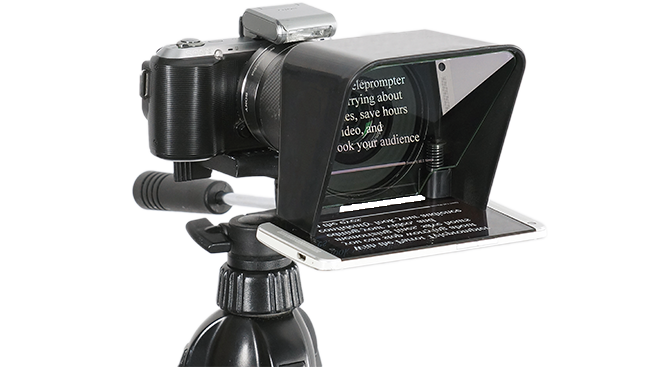 Parrot Teleprompter The compact and affordable
