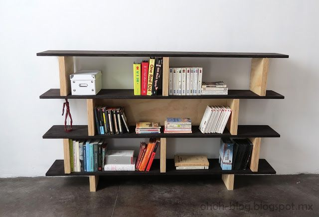 DIY Bookshelf I Would Use Medium Warm Wood Stain With The Espresso Color
