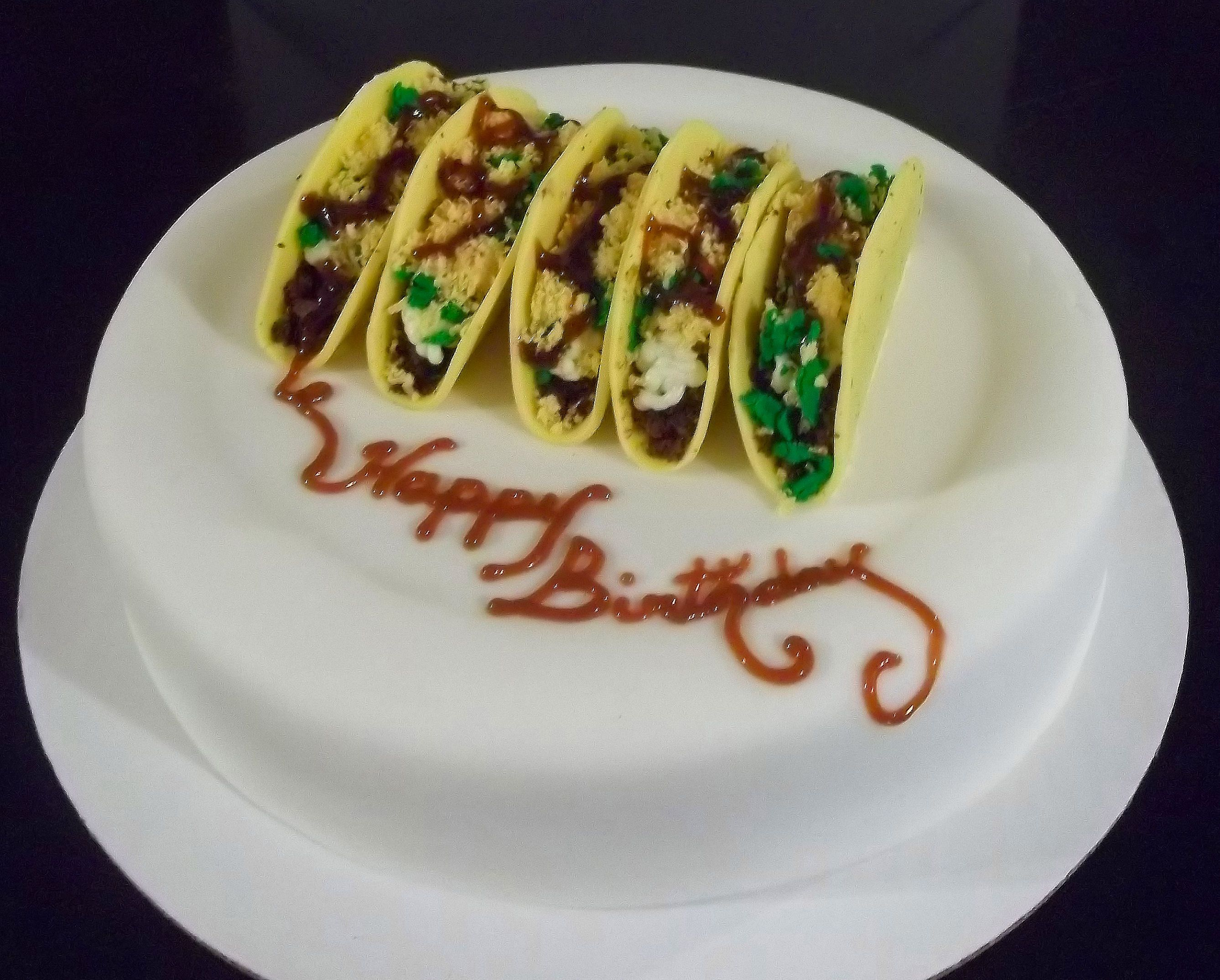 Covered in crafts crazy cakes how to make cake taco cake