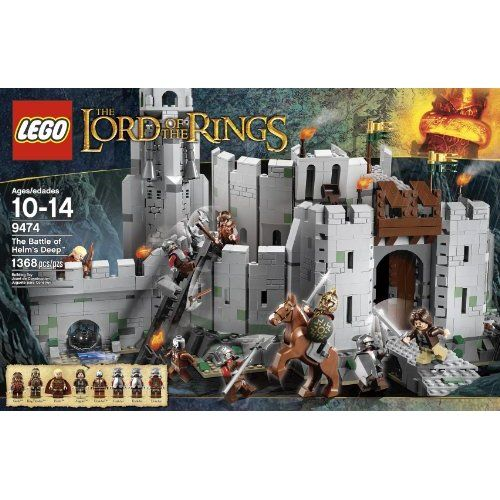 Amazon.com: LEGO The Lord of the Rings 9474 The Battle of Helm's ...