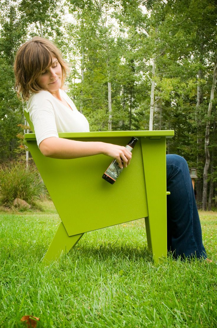 Loll Designs Indoor Outdoor Furniture Made From 100% Recycled Plastic Milk  Bottles HDPE And Even
