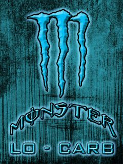Download Free Logos Wallpaper Monster Energy Blue For Mobile Phones