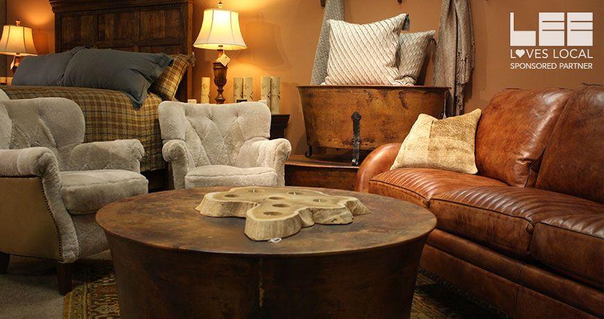 Charming LEElovesLOCAL, Gallatin Valley Furniture, Bozeman, MT. #leeloveslocal @GALLATIN  VALLEY FURNITURE