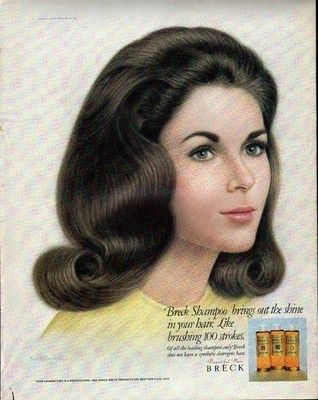 Breck Shampoo ad one of the Breck Girls 1967