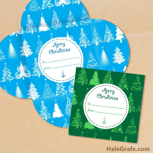 FREE Printable Christmas Tree Pattern Gift Card Holders - christmas gift certificates free