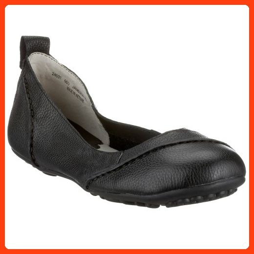 Hush Puppies Womens Janessa Black Leather Shoes 5 Us Partner Link Black Leather Shoes Women Shoes Shoes