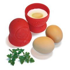 Nesting doll egg poacher.  Yes please!