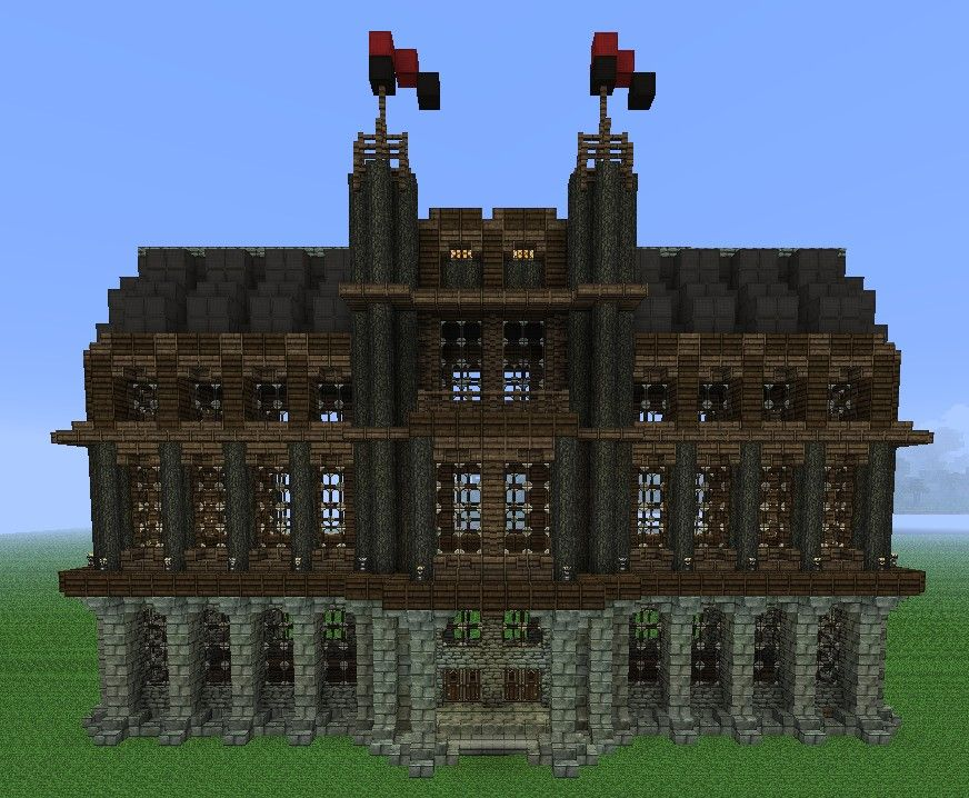 Small Medieval Palace Minecraft Project - Didn't think of ...