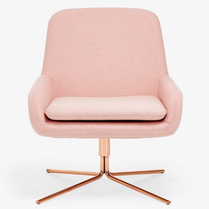 A Match Made in Heaven Copper + Pink is part of Scandinavian furniture design - Pale pink and copper are like one of those couples that look so good together that once you see them together it's hard to imagine them with anyone else  And like all good couples, they bring out the best in each other copper gives pink a bit of an edge, and pink brings out the warm, rosy tones in copper, giving it a special glow  Here are a few of our favorite examples  Above The folks from Livet Hemma paired a copper pendant light with an IKEA duvet dyed in a peachy pink