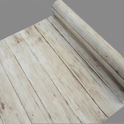 SimpleLife4U Light Brown Wood Grain Contact Paper Self Adhesive Shelf Liner  Dresser Drawer Cabinet Sticker 17.7