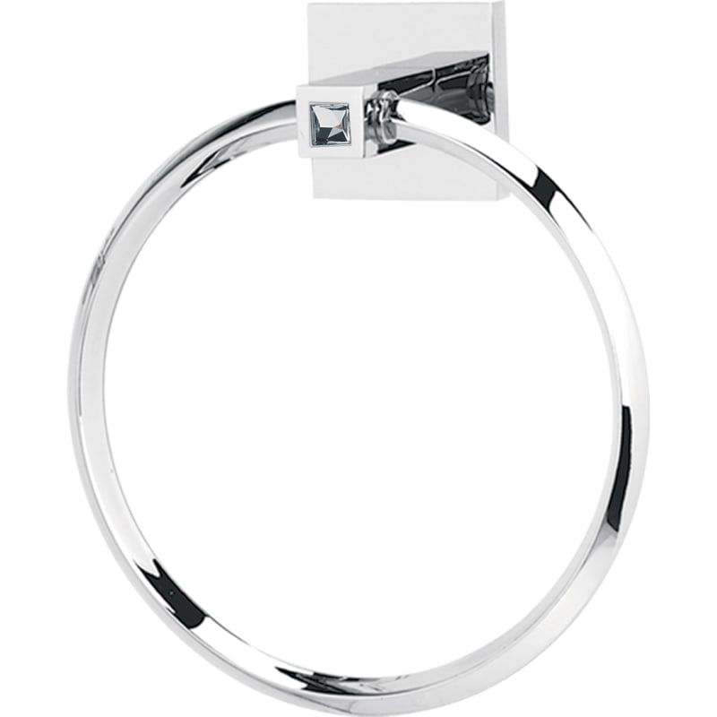 Alno C8440 6 Inch Towel Ring From The Contemporary Ii