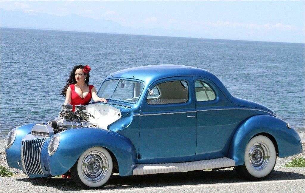 Ray S 1939 Ford Business Coupe Deluxe 39 Ford Coupe Car Girls Futuristic Cars Ford
