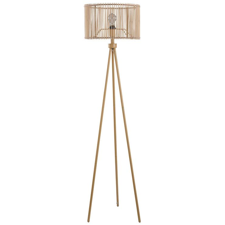 60 In Rattan Floor Lamp Rattan Floor Lamp Wicker Floor Lamp