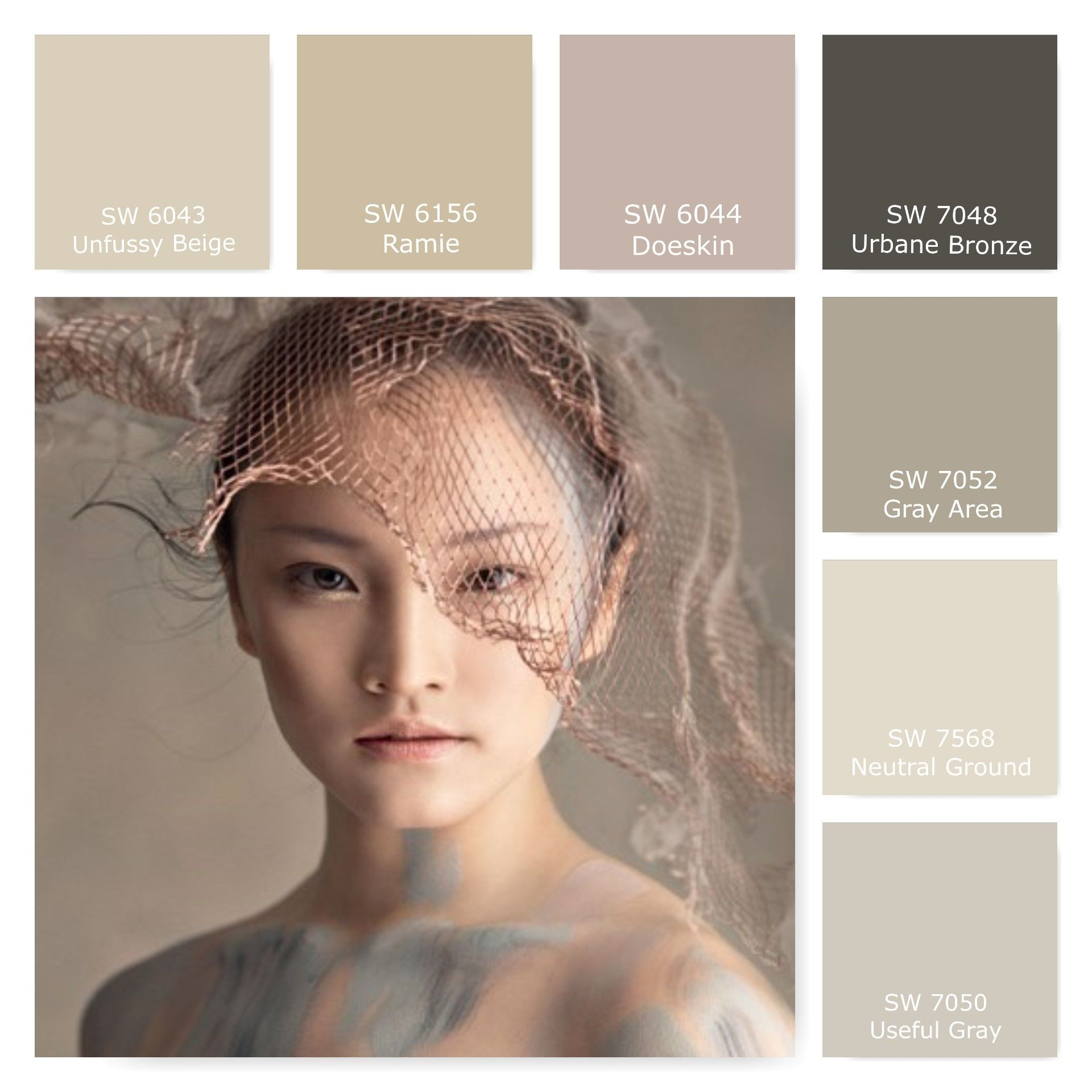So many great neutrals on one palette. We're happy to see ...