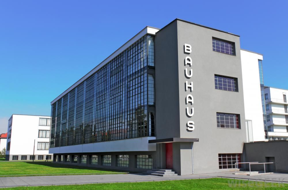 modernist architecture Google Search Bauhaus