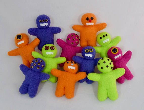 Mini Monster Dolls  Toy Stuffed Animals