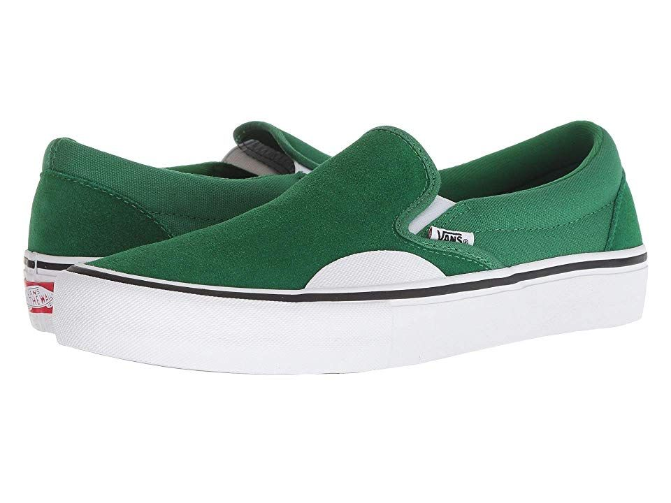 7190b6606ab91 Vans Slip-On Pro (Amazon/White) Men's Skate Shoes. A style so iconic ...