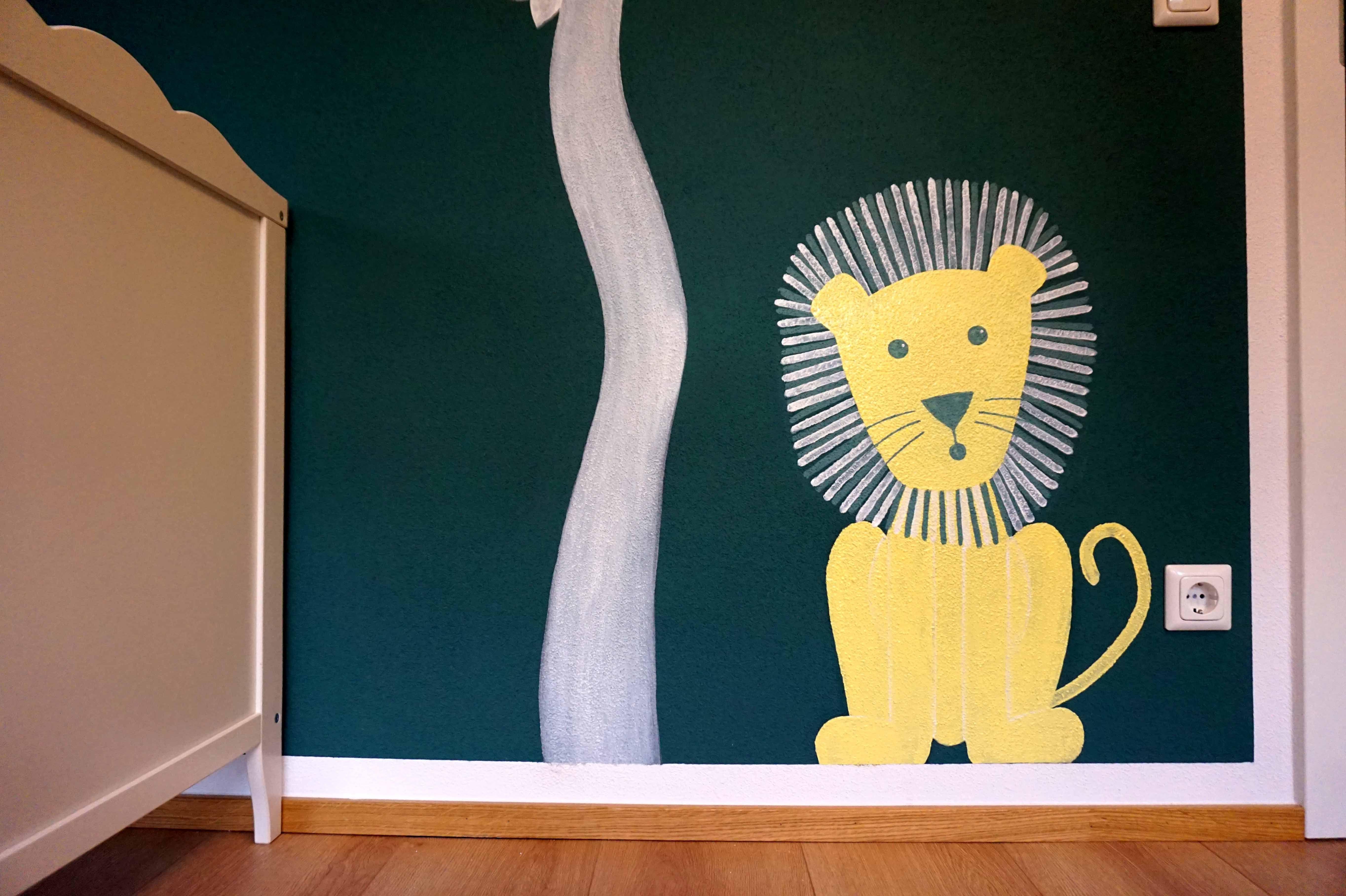 Pin von KinderzimmerMalerei auf Wandmalerei_München Der
