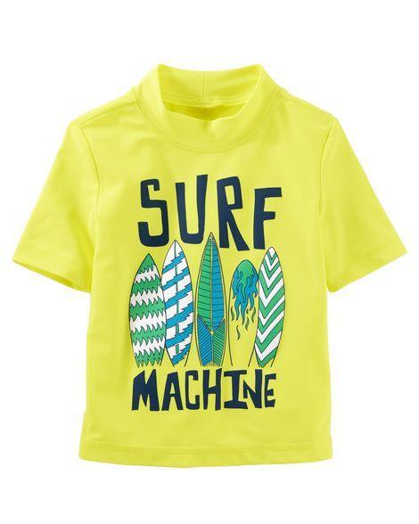 b0b7d4de4c OshKosh Surf Machine Rashguard | Products | Rash guard, Surfing ...