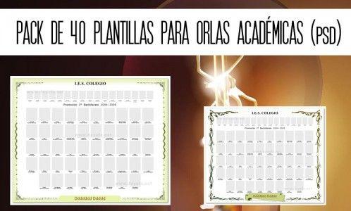 Pack De 40 Plantillas Para Orlas Académicas En Psd Ficha De Observacion Plantas Día De La Constitución