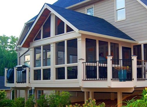 Screened Porch Ideas Landscaping Network Screened Porch Designs Decks And Porches Farmhouse Front Porches