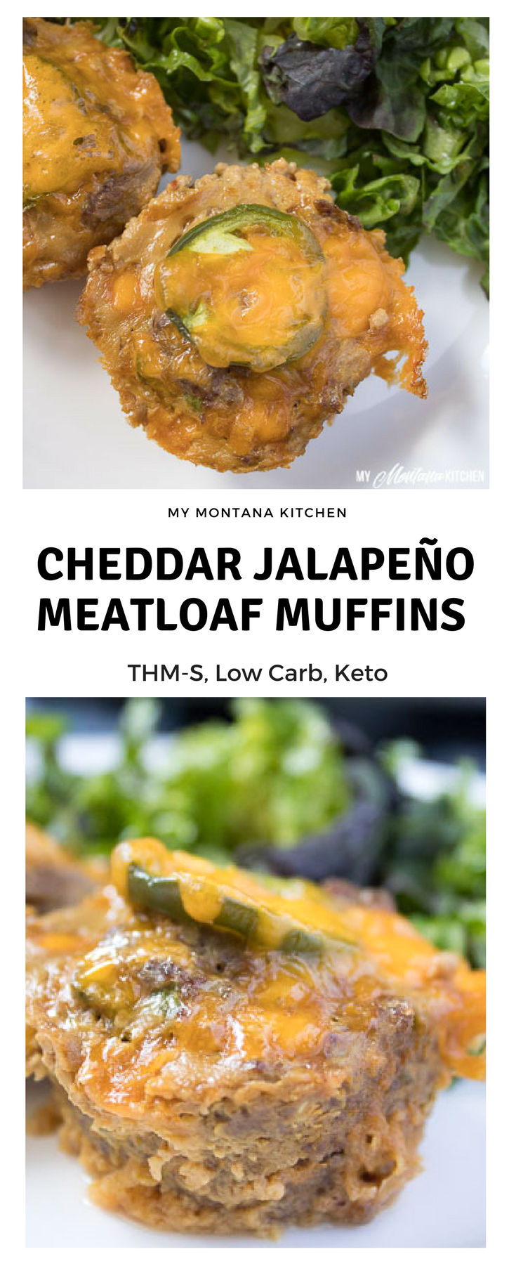 Jalapeño Meatloaf Muffins (Low Carb, THM-S, Keto)