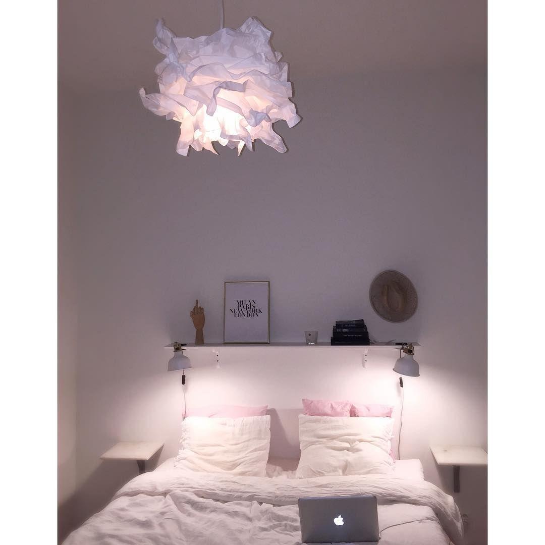 Inredning inspiration inredning sovrum : Ibland är ikea bra ✌ #ikea#krusning#linnelakan#interiör#sovrum ...