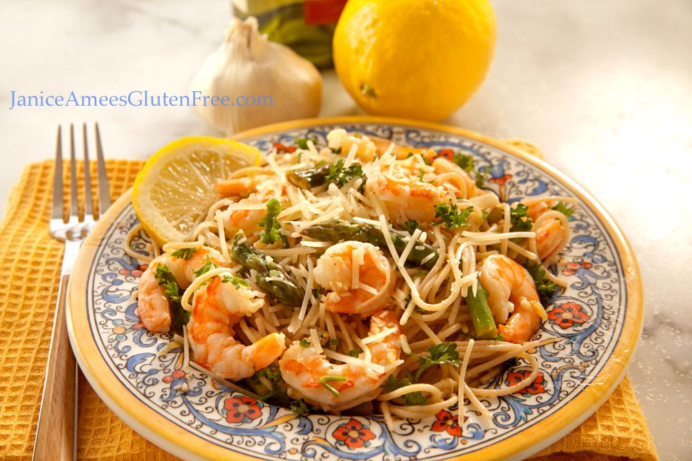 Gluten Free Shrimp Scampi by Janice Amee's Gluten Free