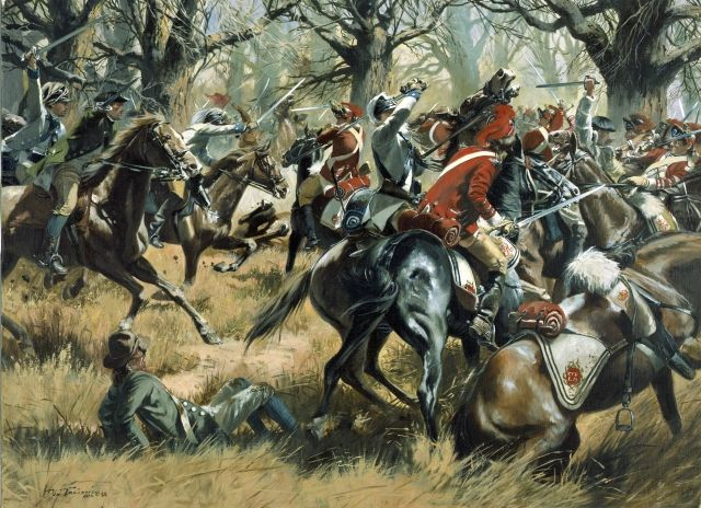 Image detail for -Often referred to as the most tactically perfect battle of the Revolutionary War, the Battle of Cowpens pitted the talents of two of that conflictAca,!a,,cs most ...