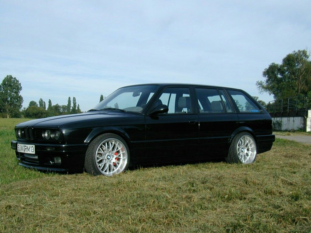 E30 Touring Blacked Out Bbs Bet
