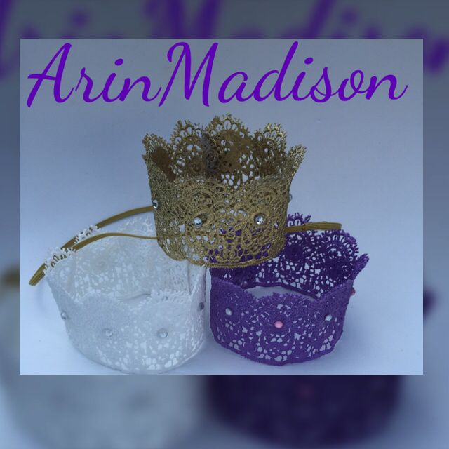 Custom Girl Crowns by ArinMadison