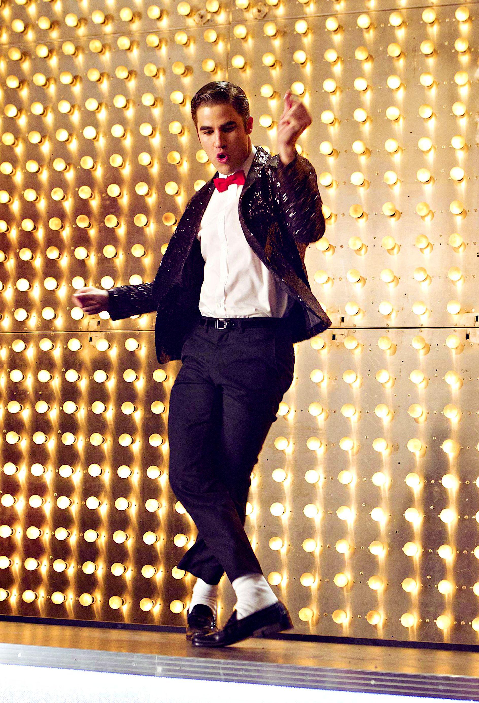 Blaine Glee Michael Jackson Tribute Episode Still Glee Shows