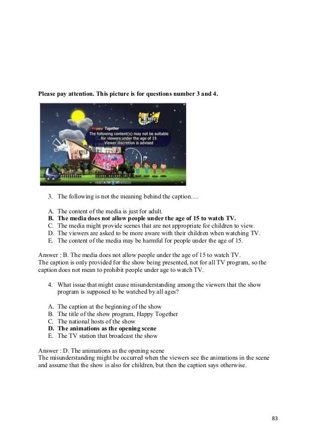 Soal Caption Bahasa Inggris Pilihan Ganda Blog Pendidikan Pendidikan Bahasa Inggris Inggris