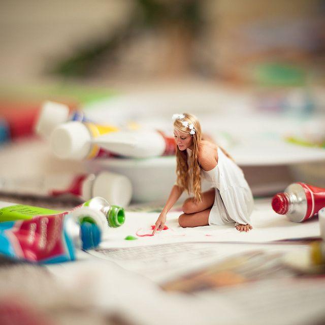 Love her creativity.  Vanessa Paxton via flickr