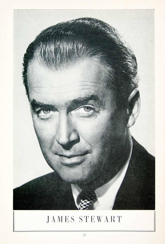 1958 Ad James Jimmy Stewart Movie Stage Actor Hollywood Film Star