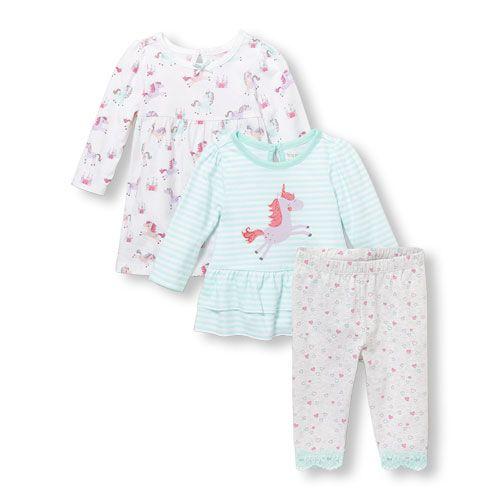 94933ec15a Baby Girls Unicorn Dress