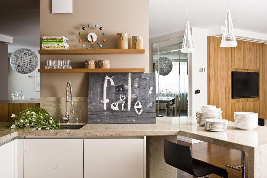 Nowoczesna Kuchnia Z Barkiem Inspiracja Homesquare Mood Words Home Decor Home