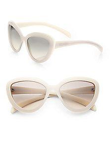 f042500c3a84 Prada - 57 mm Cat s-Eye Sunglasses