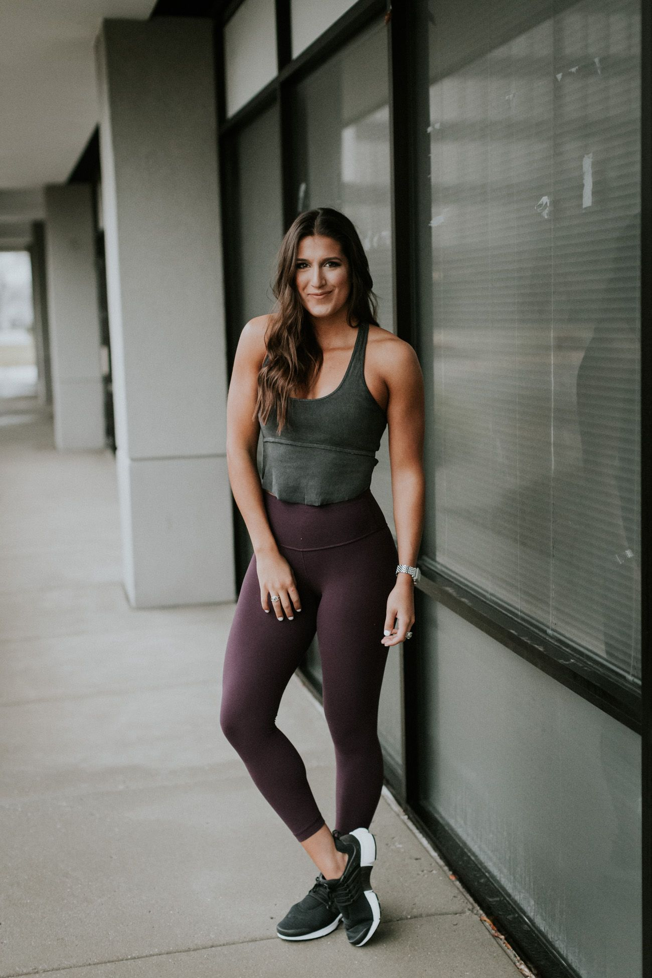 5c2b503a1db23 Weekly Workout Routine  Racerback Crop Top