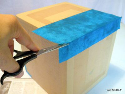 Häufig Boîte en carton avec couvercle, Tuto cartonnage - Loisirs créatifs  LX08