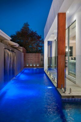 lap pool project - view our innovative, custom built inground pool