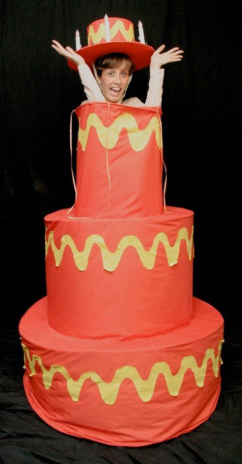 Costume Of Pop Out Cake