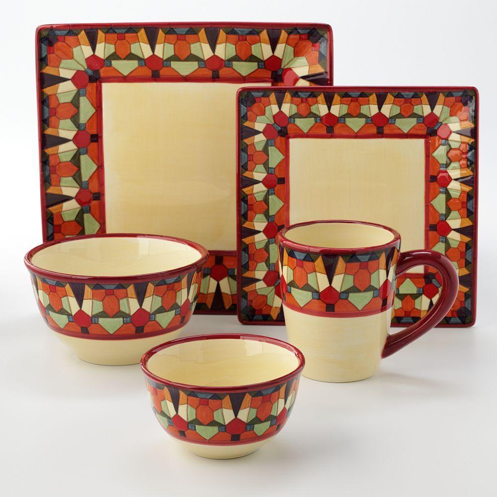 Corsica™ Mosaica Dinnerware & Corsica™ Mosaica Dinnerware | The Dish ? | Pinterest | Dinnerware ...