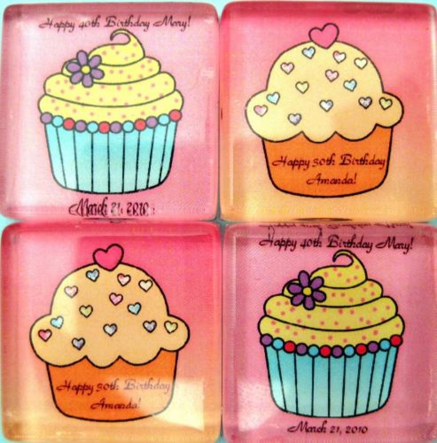 cupcake magnet wedding favors | Wedding ideas | Pinterest | Cupcake ...