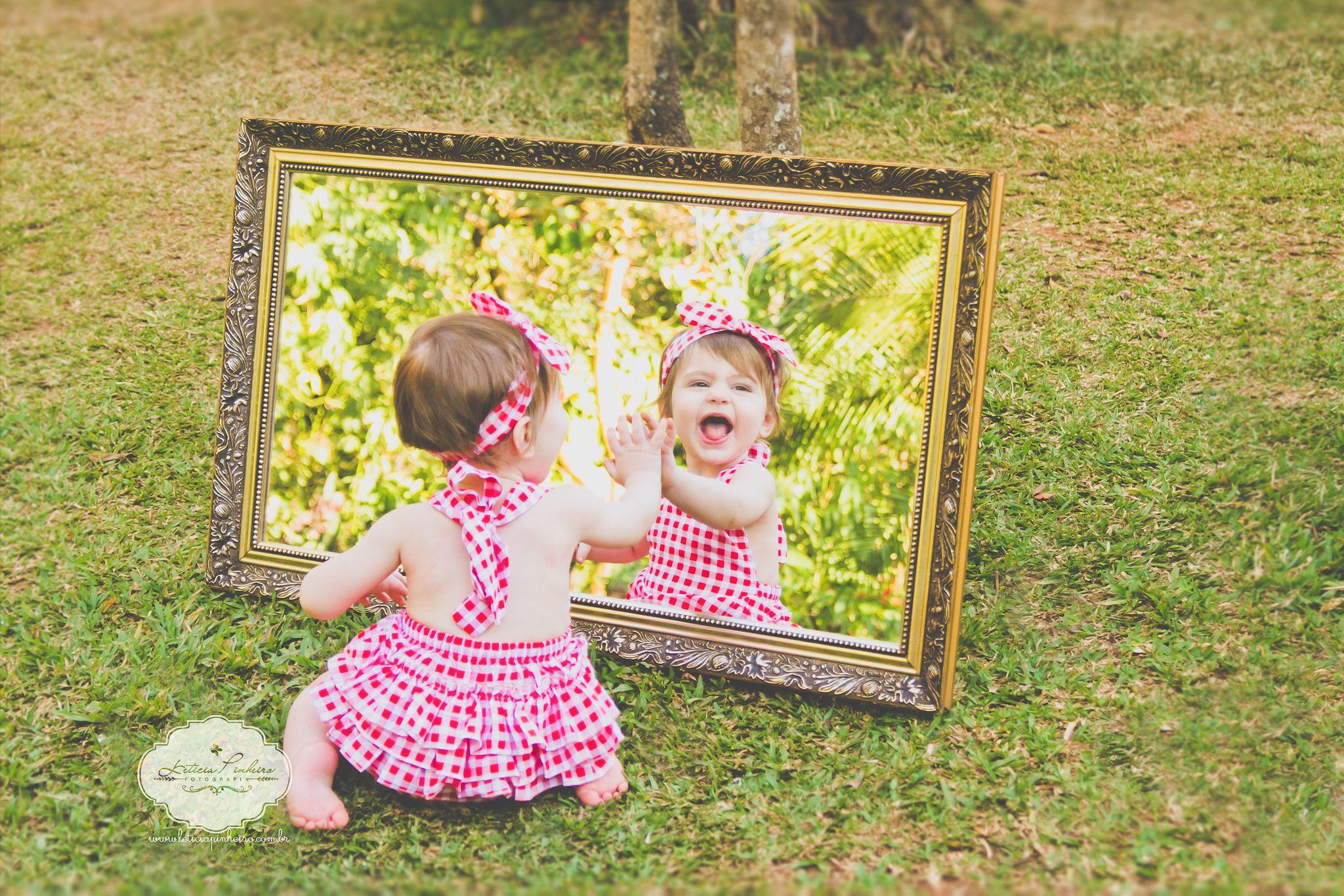 Ensaio Infantil  #espelho #ensaioinfantil #Kids #Babyphoto  www.leticpinheiro.com.br