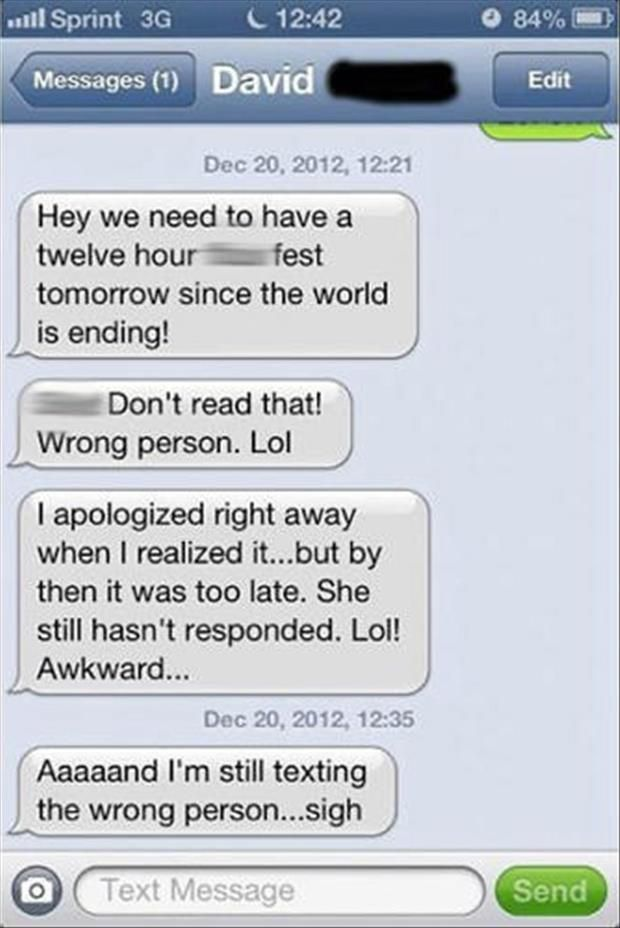sample sexting messages