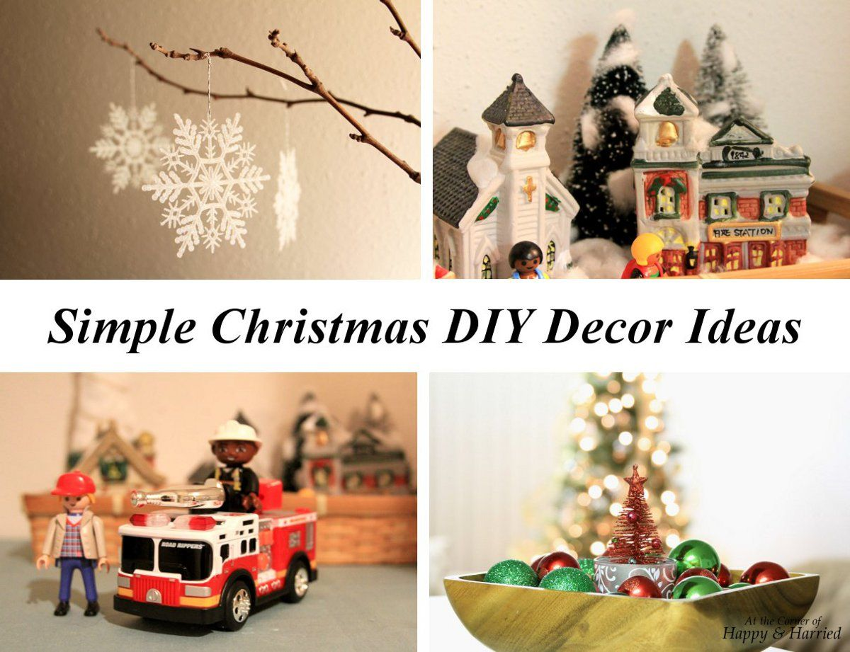 DIY Christmas decorations - easy and simple 50