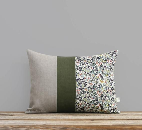 Best Limited Edition Liberty Print Pillow Cover Wiltshire Leaf 400 x 300