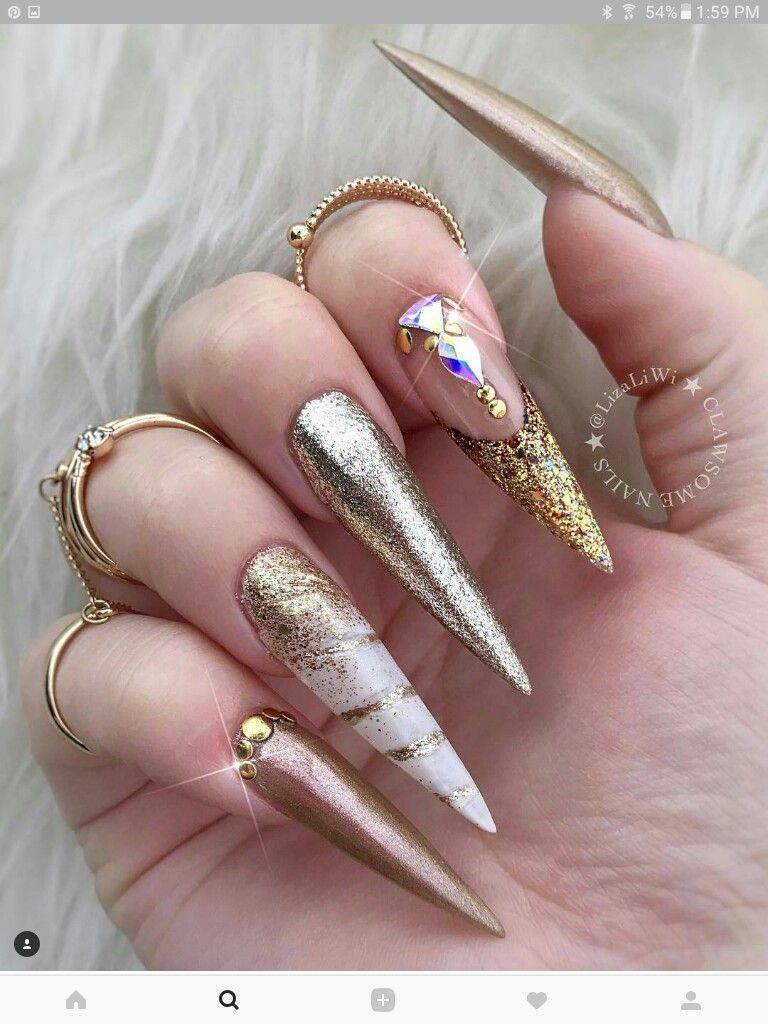 Pin de Norma Cruz en uñis | Pinterest | Diseños de uñas, Uñas ...